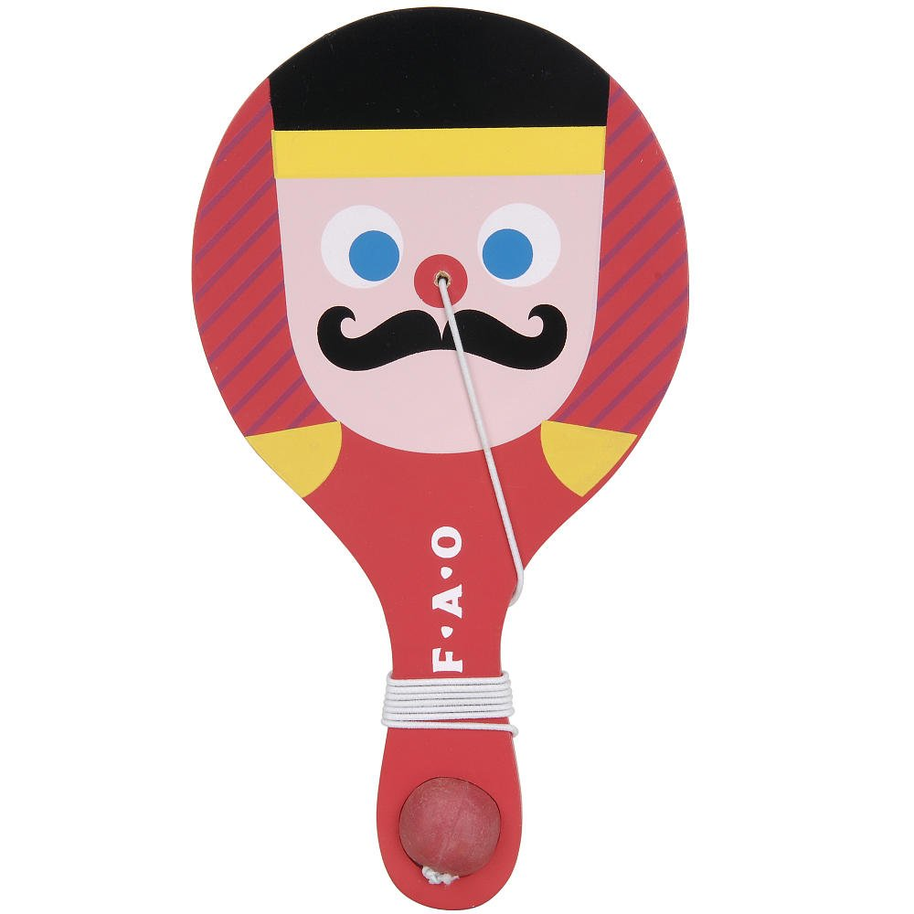 FAO Schwarz Paddle Ball - Toy Soldier сумка picard 8256 1s1 001 schwarz
