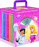 Disney Princess Follow Your Heart 6- books Travel Pack (with audio CD and carrying case) (Disney Princess (Random House Board Books))