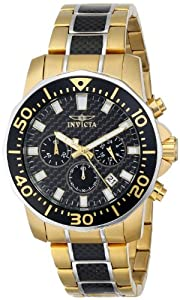 Invicta Men's 17254SYB Pro Diver Analog Display Japanese Quartz Two Tone Watch