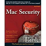 "Mac Security Bible (Paperback) tagged ""mac os x"" 21 times"