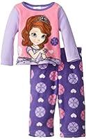 Disney Sofia the First Baby Girls' Micro Fleece Two Piece Pajama Set