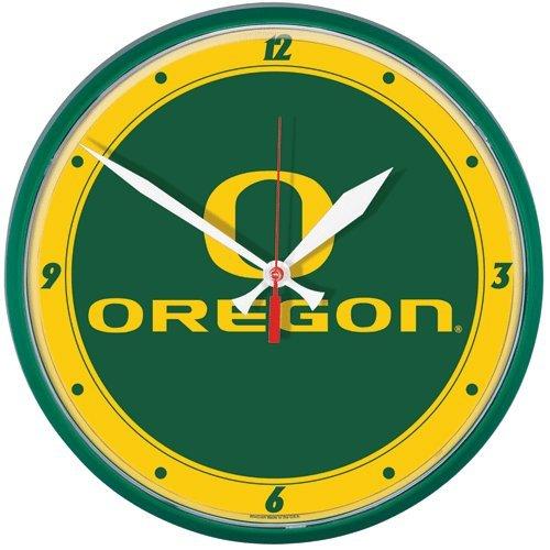 NCAA Oregon Ducks Round Clock