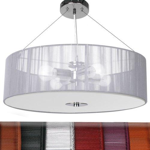 jago Lampadario da soffitto classe A++ fino E colore a scelta (argento)