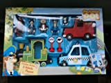Postman Pat Friction Powered Playset 3 Vehicles