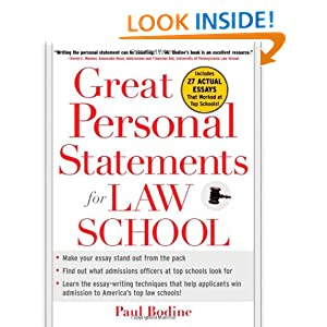 Personal statement questions