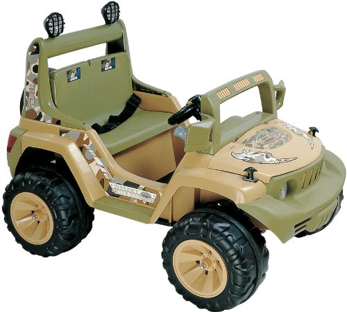 Childrens Powered Ride Ons 2 Seater Kids Ride On Jeep Battery