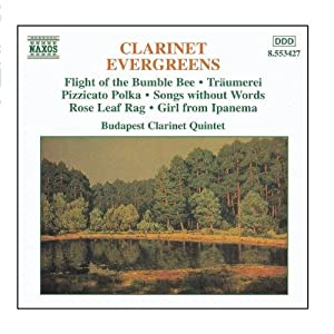 Clarinet Evergreens