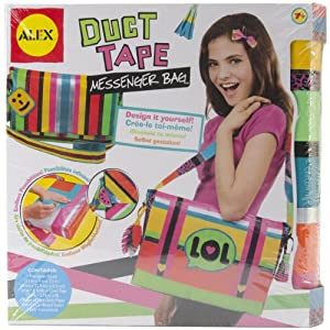 ALEX® Toys - Do-it-Yourself Wear! Duct Tape Messenger Bag 765D