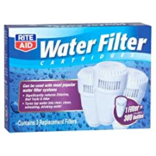 Rite Aid Water Filter Cartridges, 3 ea