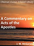 Image of Commentary on Acts of the Apostles - Enhanced Version