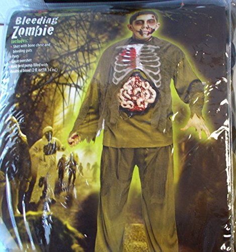 Bleeding Zombie Child Costume 12-14 NIP
