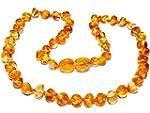 Collier d'ambre b�b� petites perles r...