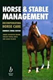 img - for Horse and Stable Management book / textbook / text book