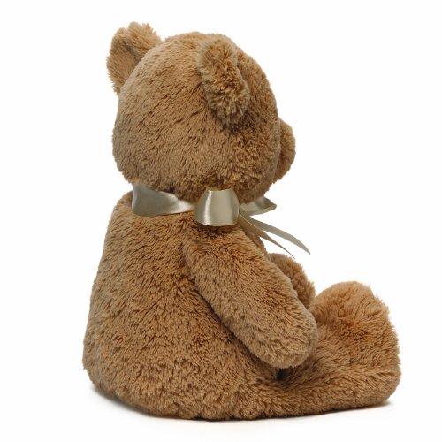 Gund My First Teddy Bear Baby Stuffed Animal 泰迪熊 15寸*2个 $18.48+$9.17直邮中国(第2件半价,约¥180)图片