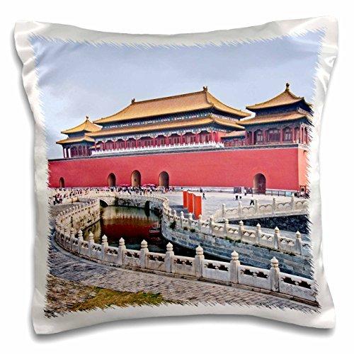 Photography Landscape - Forbidden City Meridian Gate - 16x16 inch Pillow Case (Meridian City)