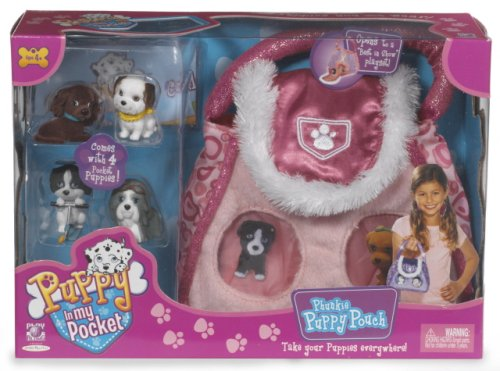 Phunkie Puppy Purse:Pink - Buy Phunkie Puppy Purse:Pink - Purchase Phunkie Puppy Purse:Pink (Play Along, Toys & Games,Categories,Toy Figures & Playsets,Playsets)