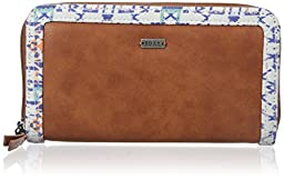 Roxy Get Away Too Wallet, Camel, One Size