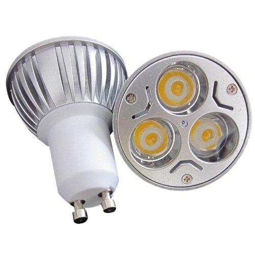 S6Store® 3W 220V Gu10 Dimmable Warm White Led Light Die-Casting Spotlight For Home Garden Business Lighting