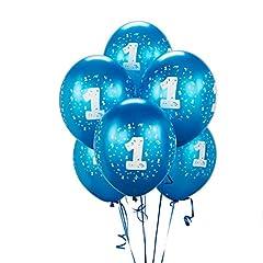 Cyan #1 Balloons 11