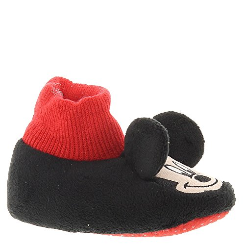 Mickey Mouse Infant Toddler Sock Top Slippers (M (3/4) M Us Toddler) front-36949
