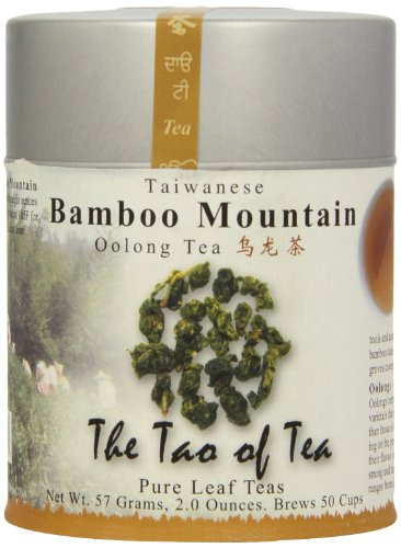 The Tao Of Tea, Bamboo Mountain Oolong Tea, Loose Leaf, 2-Ounce Tins (Pack Of 2)