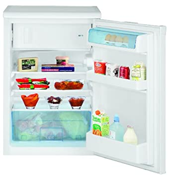 BOMANN Kühlschrank KS 163.1 weiß A+ 101 Liter Kühl Schrank mit Gefrierfach