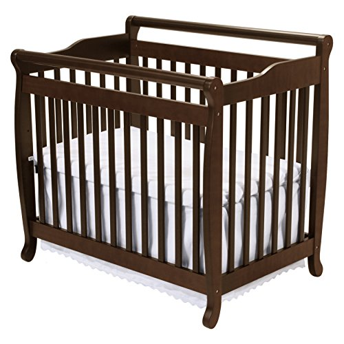 DaVinci Emily 2-in-1 Mini Crib and Twin Bed in Espresso Finish