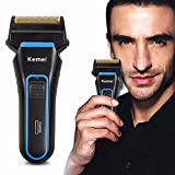 LuckyFine Shaver Mens Electric Rechargeable Men's Shaver Razor Beard Hair Clipper Trimmer Washable