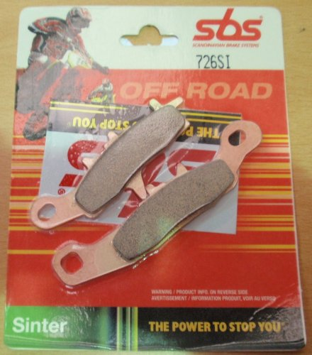 SBS OFF ROAD SINTERED BRAKE PADS SBS726SI