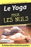 echange, troc Georg Feuerstein, Larry Pane - Le Yoga pour les Nuls