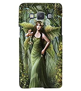 ColourCraft Graceful Angel Design Back Case Cover for SAMSUNG GALAXY A7