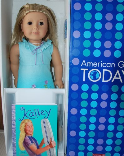 American Girl Kailey Doll Of The Year Laura Waechterfos