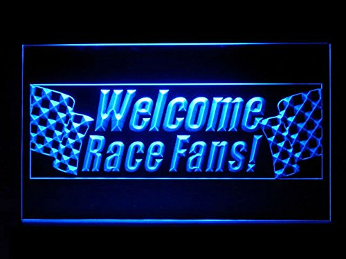 C B Signs Bar Man Cave Welcome Race Fans Led Sign Neon Light Sign Display