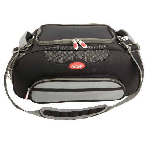 Teafco Argo Large Aero-Pet Airline-Approved Pet Carrier, Black