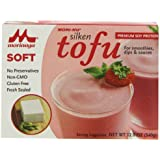 Morinu Soft Tofu, Silken, 12-Ounce Packages (Pack of 12)