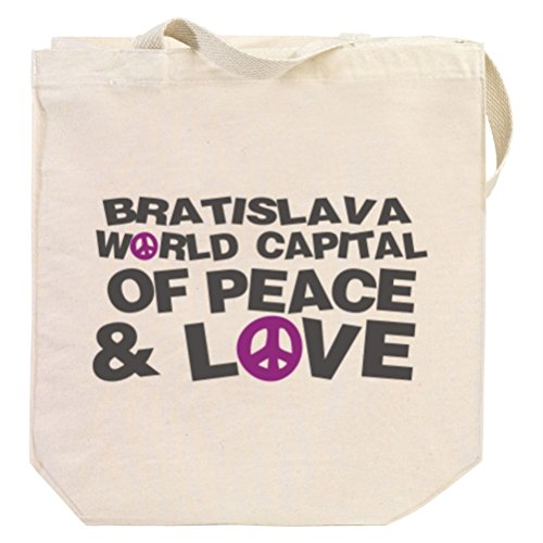 bratislava-world-capital-of-peace-and-love-tote-bag