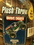 Monster Jam Grave Digger Plush Throw