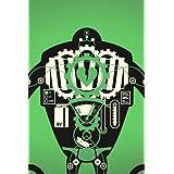 BLIK ウォールステッカー ヴィジブル・ロボット (スモール) クリーム/スライム/ブラック BL-HD-Robot-sm