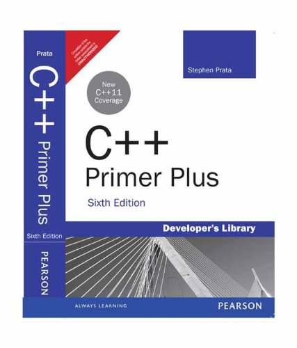 C++ Primer Plus, by STEPHEN PRATA