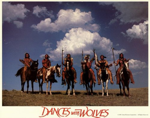 Dances-With-Wolves-Poster-Movie-11x14-Kevin-Costner-Mary-McDonnell-Graham-Greene-Rodney-A-Grant