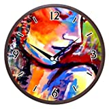 Wall Clocks - Printland Mixed Colors Wall Clock