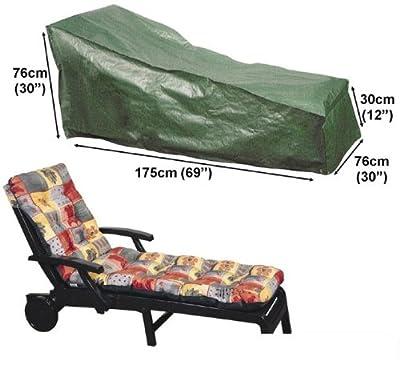 Schutzhülle Schutz-Plane Abdeckplane für Gartenliege Liegestuhl 175cm
