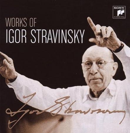 stravinsky - Stravinsky: opéras et autres oeuvres pour voix et orchestre 51gqnddO7AL._SY450_