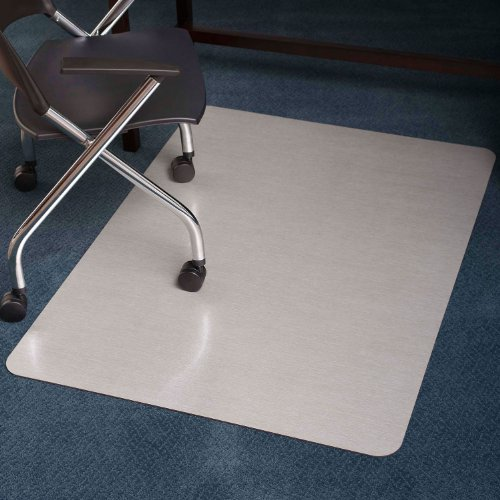 style rectangle chair mat for hard floors 36 by 48 inch mahogany