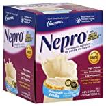 Nepro Therapeutic Nutrition, for People on Dialysis, Homemade Vanilla 4 - 8 fl oz (237 ml) bottles 1 qt (948 ml)