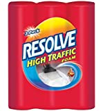 Resolve Carpet Cleaner High Traffic Foam, 22 Ounces, 3-Can Pack