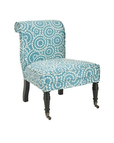 Safavieh Orson Side Chair, Blue/White