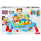 3 X Mega Bloks 3-in-1 Play n Go Table