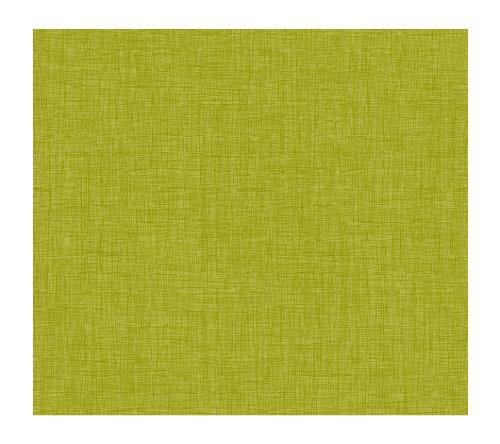 York Wallcoverings Kb8674 Bistro 750 Linen Prepasted Wallpaper, Lime