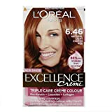 L'Oreal Excellence NEW SHADE - Natural Light Copper Red 6.46